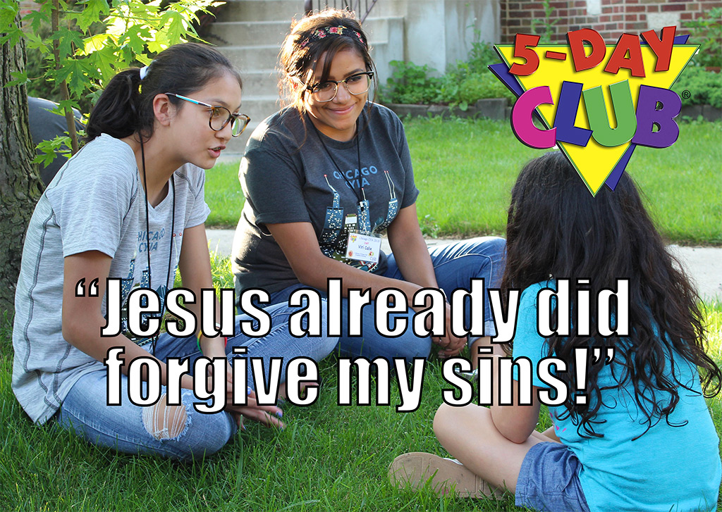 Jesus Already Did Forgive My Sins!